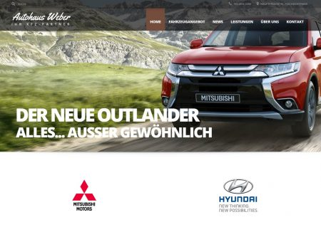 Neue Website www.kfz-weber.at